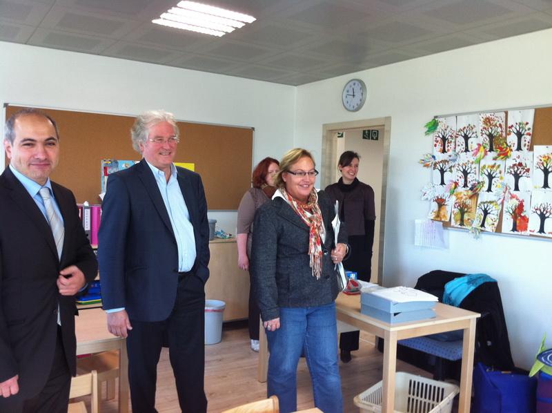 Visite de Monsieur Didier Gosuin et Madame Béatrice Fraiteur
