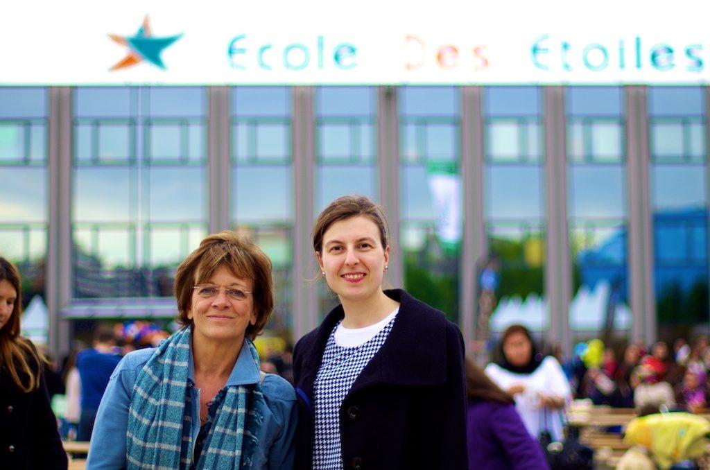 Le 18 mai 2012 nous avons eu la visite de Mme Isabelle Durant